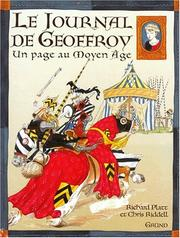 Cover of: Le journal de Geoffroy, un page au Moyen Age