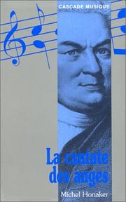 Cover of: La cantate des anges