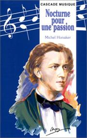 Cover of: Nocturne pour une passion