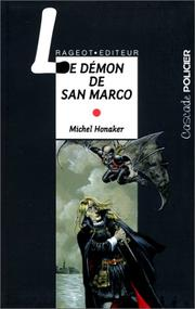 Cover of: Le Démon de San Marco