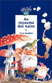 Cover of: Au royaume des nains