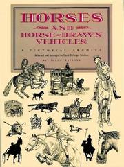Cover of: Horses and horse-drawn vehicles