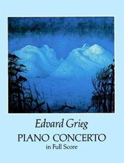 Cover of: Piano Concerto in Full Score