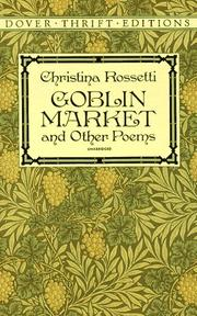 Cover of: Goblin market and other poems
