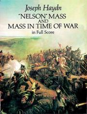 Cover of: Nelson Mass and Mass in Time of War in Full Score