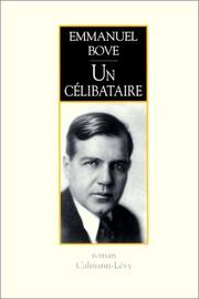 Cover of: Un célibataire