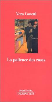 Cover of: La Patience des roses