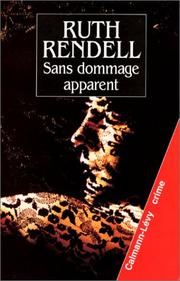 Cover of: Sans dommage apparent