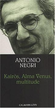 Cover of: Kairos, alma Vénus, multitude