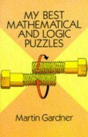 Cover of: My best mathematical and logic puzzles