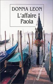 Cover of: L'affaire Paola