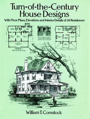 Cover of: Turn-of-the-century house designs |