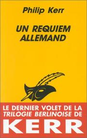 Cover of: Un requiem allemand