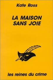 Cover of: La maison sans joie