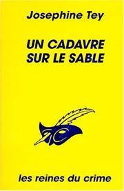 Cover of: Un cadavre sur le sable
