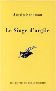 Cover of: Le singe d'argile
