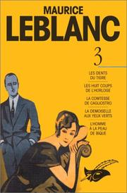 Cover of: Maurice Leblanc. 3