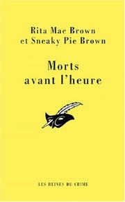 Cover of: Morts avant l'heure