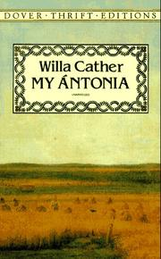 Cover of: My Ántonia
