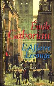 Cover of: L'Affair La Rouge