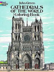 Cover of: Cathedrals of the World Coloring Book