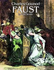 Cover of: Faust in Full Score