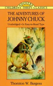 Cover of: The adventures of Johnny Chuck