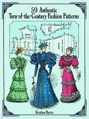 Cover of: 59 authentic turn-of-the-century fashion patterns