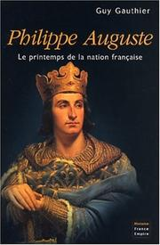 Cover of: Philippe Auguste