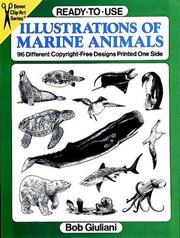 Cover of: Ready-to-Use Illustrations of Marine Animals | Bob Giuliani