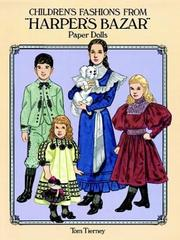 "Cover of: Children's Fashions from ""Harper's Bazar"" Paper Dolls"