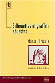 Cover of: Silhouettes et graffiti abyssins