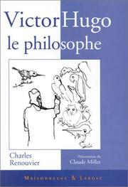 Cover of: Victor Hugo, le philosophe