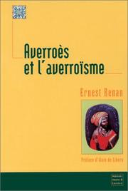 Cover of: Averroes et l'averroisme