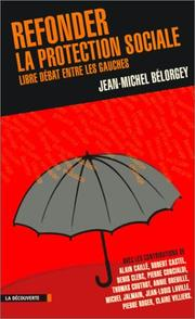 Cover of: Refonder la protection sociale