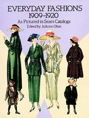 Cover of: Everyday fashions, 1909-1920, as pictured in Sears catalogs |