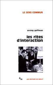 Cover of: Les Rites d'intéraction