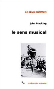 Cover of: Le sens musical