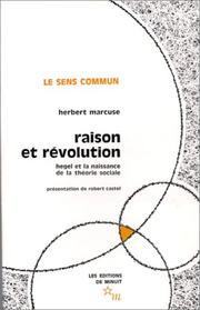 Cover of: Raison et révolution