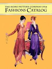Cover of: The Home Pattern Company 1914 fashions catalog