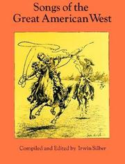 Cover of: Songs of the great American West