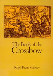Cover of: The book of the crossbow