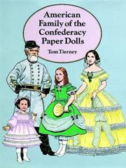 Cover of: American Family of the Confederacy Paper Dolls