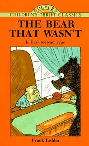 Cover of: The bear that wasn't