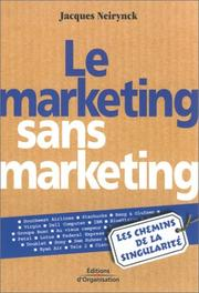 Cover of: Le Marketing sans Marketing