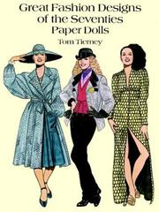 Cover of: Great Fashion Designs of the Seventies Paper Dolls