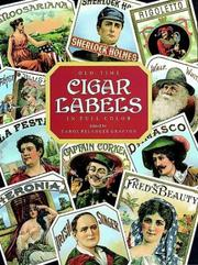 Cover of: Old-Time Cigar Labels in Full Color