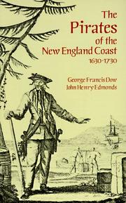Cover of: The pirates of the New England coast, 1630-1730