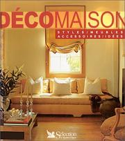 Cover of: Déco maison