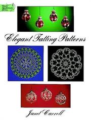 Cover of: Elegant tatting patterns